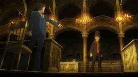 Professor Layton vs Ace Attorney - English subbed trailer