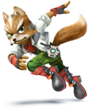Fox - Super Smash Bros.