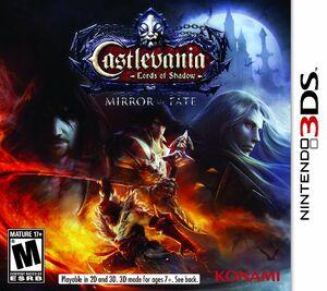 Castlevania Mirror of Fate box art