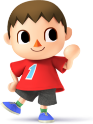 Villager - Super Smash Bros.
