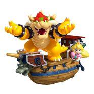 Bowser & Peach (Super Mario 3D Land)