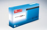 Nintendo 3DS XL NA blue box art