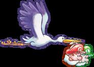 Yoshi's New Island - Storks & Babies