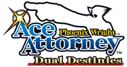 Ace Attorney Dual Destinies logo