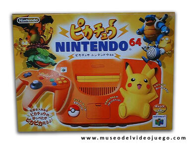 Nintendo-64-Pikachu-Naranja