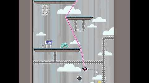 Dangle - level 15 ending