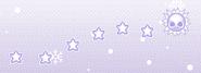 Drawing stars - Snowman skin