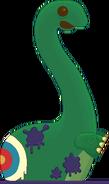 Tar Brontosaurus 2