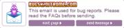 Nitrome Bug Email Adress