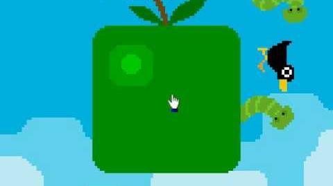 Pixel pop Nitrome hard level bird