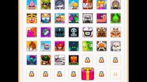 Nitrome avatars - Oodlegobs (Turnament knight avatar)