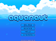 Aquanaut-menu