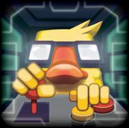 Gunbrick trailer animated icon 9secs