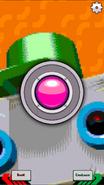 BBR Touchy green robot menu