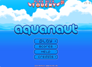 Aquanaut menu