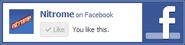 Facebook Nitrome ad 2.1 liked