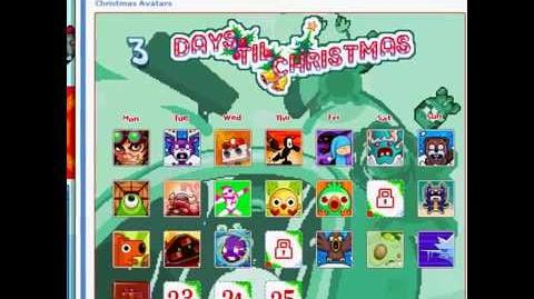 Nitrome avatars - Pixel Pop Godzilla (Snowman skin)