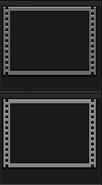 Blank video holder