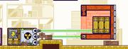 Floating block glitch
