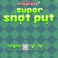 Super Snot Put menu