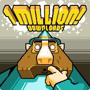 Million downloads