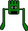 Two legged monster jump