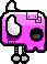 Robotic Pink skeleton