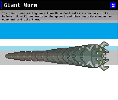 SSN Giant Worm