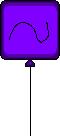 ET Purple Balloon