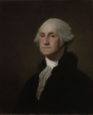 George Washington by Gilbert Stuart Yale University Art Gallery portrait-1-