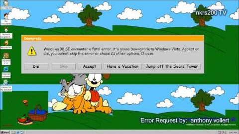 Microsoft Sam reads Funny Windows Errors Season 6 Episode 3
