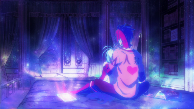 File:Sora and Shiro sitting on bed.png