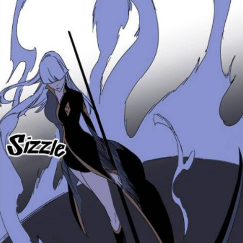 Seira draws out Death Scythe.