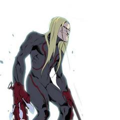 Lutai's battle suit