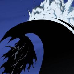 The Grim Reaper overwhelms Mirai.