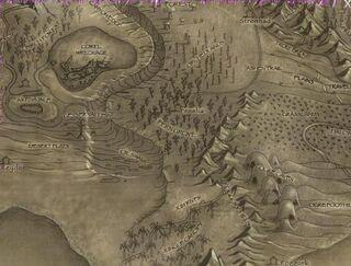 Fern Grove-Map