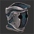 Topaz Enchanted Steel Helmet