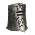 Runic Steel Bucket Helm