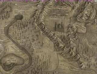 South Passage-Map