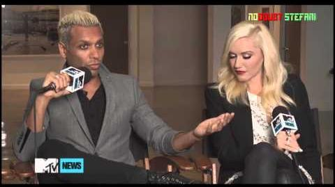 "NO DOUBT interview MTV ""Push And Shove"""