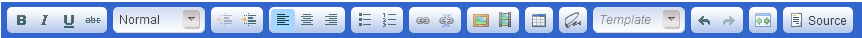 Toolbar in edit mode