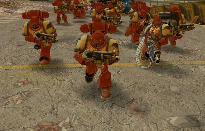 Warhammer 40000 Dawn of War No Hud