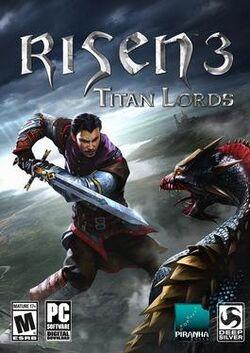 Risen 3, Titan Lords box art