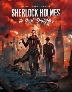 Sherlock Holmes The Devils Daughter cover art