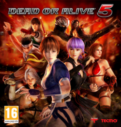 Art cover of Dead or Alive 5