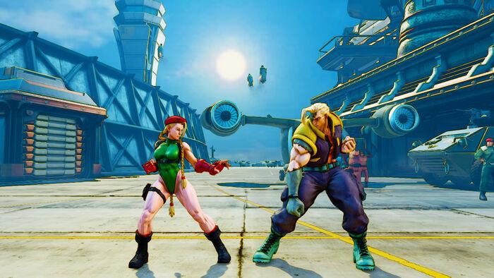 Street Fighter V No Hud