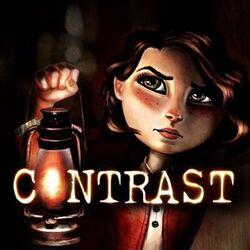 Contrast game logo