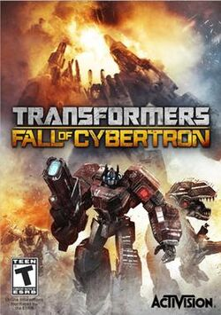 Transformers, Fall of Cybertron PC box art