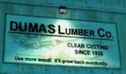 NOLF1 Dumas Lumber Company