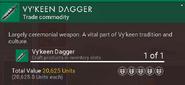 Vy'keen Dagger desc